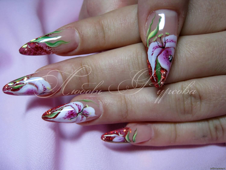 Нежные короткие ногти фото