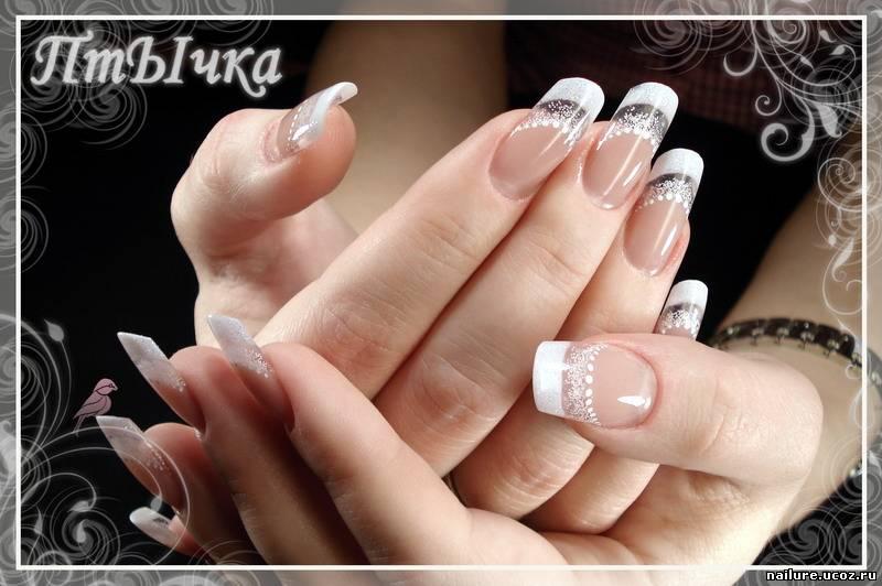 Новые френчи на ногтях фото