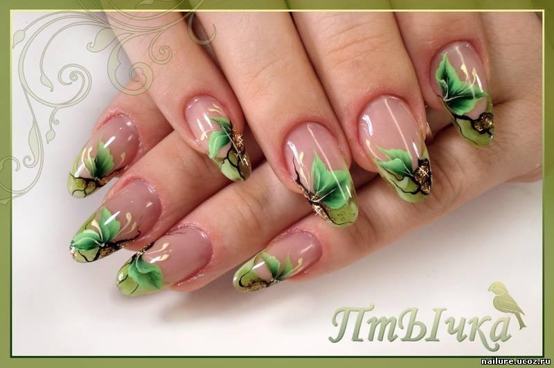 Красивые рисунки на ногтях весна
